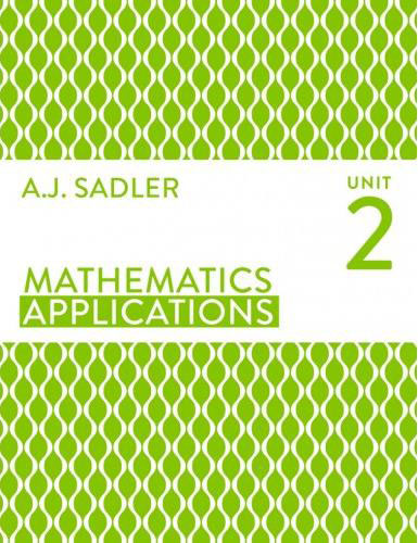 Tutor for Year 11 maths Applications Unit 2