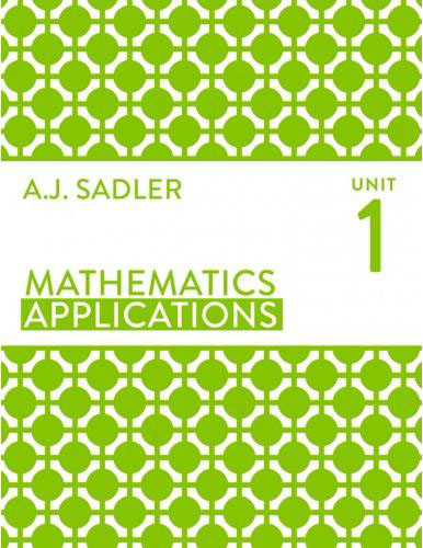 Tutor for Year 11 maths Applications Unit 1