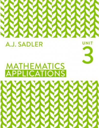 Tutor for Year 12 maths Applications Unit 3