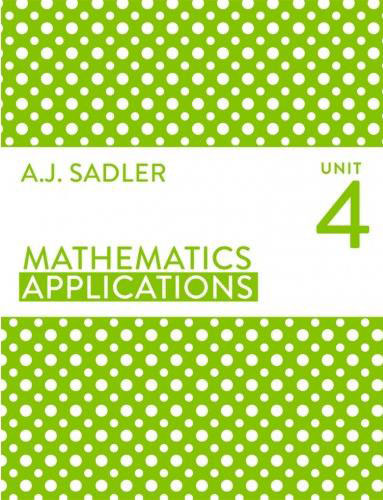 Tutor for Year 12 maths Applications Unit 4