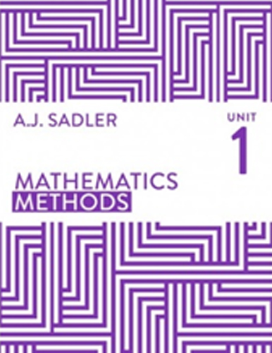 Tutor for Year 11 Maths Methods Unit 1