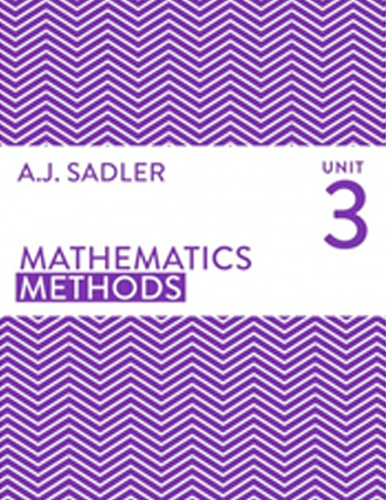 Tutor for Mathematics Methods Unit 3