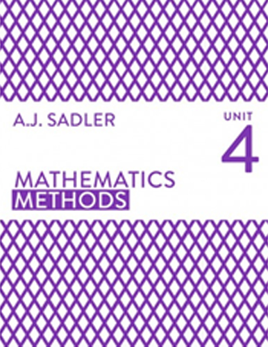 Tutor for Year 12 Maths Methods Unit 4